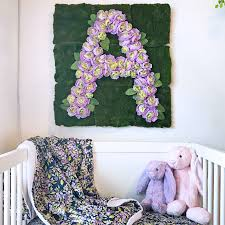 baby showers bring decorative wall flowers project nursery