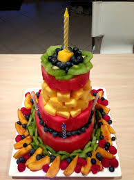 creative fruit arrangements how to diy no bake fresh fruit cake creative ideas