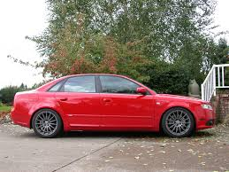 audi a4 slammed slammed with ti wheels