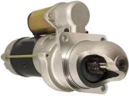 amazon com new 12v 10t starter motor fits case loader backhoe