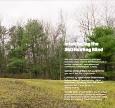 Natural Hunting Blinds New 360 Hunting Blinds U2013 6 X 6 360 Blind Pro Series U2013 Wessel Outdoors