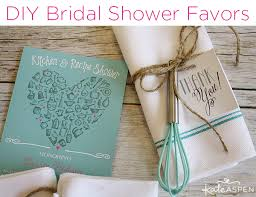 kate aspen diy bridal shower whisk tea towel favors kate aspen