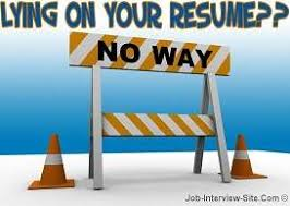 fake resume lying on resume consequences resume lies hloom com