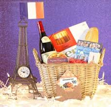 themed gift basket leave a flavor vacation the tree with cuisine themed gift