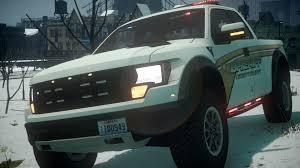 Ford Raptor Police Truck - 2011 police ford f 150 svt raptor gta iv car mod youtube