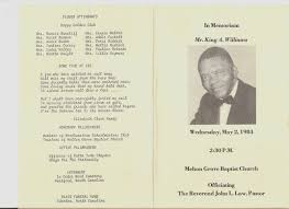 funeral programs online genea related funeral card friday new programs added to database