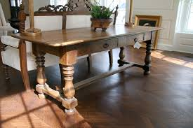 antique french farm dining table