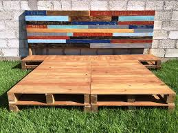 Build A Platform Bed Using Pallets by Build A Platform Bed Using Pallets Friendly Woodworking Projects