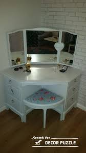 Vanity Table L Unique Modern Corner Dressing Table Designs For Small Bedroom