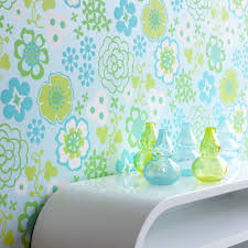 blue wallpaper wall decor source photo intrade arafen