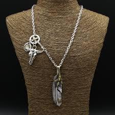 long necklace men images 56g solid 925 sterling silver long necklace men vintage indian jpg