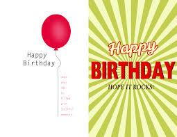 Birthday Card Sender Card Invitation Sles Downloadable Birthday Cards Printed
