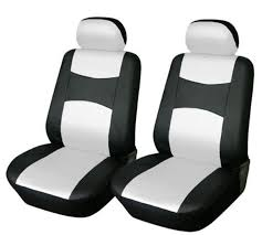 seat covers for bmw 325i bmw 4pc set vinyl leather front car seat covers 328i 528i 535i