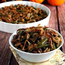 cooker green bean casserole on sugar mountain