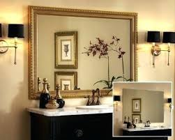Bathroom Mirror Frames Kits Bathroom Mirrors With Frames Easywash Club