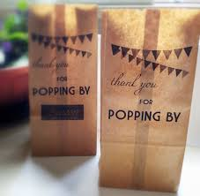 Popcorn Sayings For Wedding Personalized Popcorn Bags For Favors Popcorn Or Candy Bar Kraft