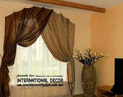 Arch Window Curtain Stylish Yellow Swag Curtains Arched Window Treatments Curtain