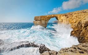 Azure Window Malta U0027s Azure Window Has Collapsed Into The Mediterranean Sea