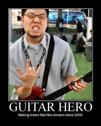 An Hero Meme - guitar hero meme guy