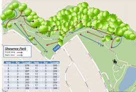 Plano Map Shawnee Park In Plano Tx Disc Golf Course Review