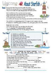 english teaching worksheets sea animals