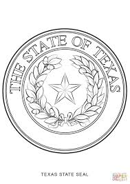 texas state seal coloring page free printable coloring pages