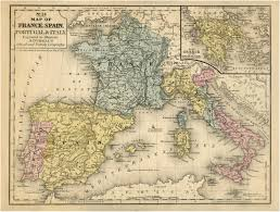 Spain Portugal Map by Spain Map France Map Map Spain Portugal Map Map France