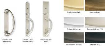 Patio Door Handle With Lock Weather Shield Sliding Patio Door