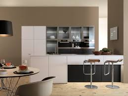 Cool Kitchen Cabinet Ideas by Cool European Kitchen Cabinets Ideas With Round Dining Table
