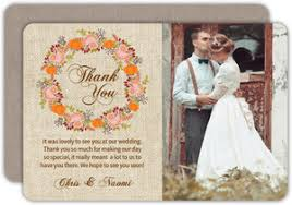 thank you wedding cards custom wedding thank you cards purpletrail