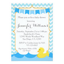 rubber duck baby shower rubber ducky baby shower invitations announcements on autumn fall