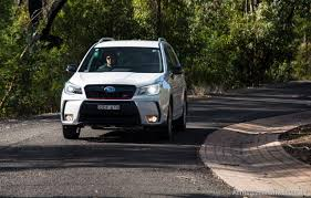 2016 white subaru forester 2016 subaru forester ts sti review video performancedrive