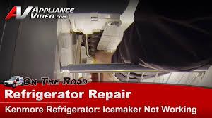 refrigerator diagnostic u0026 repair icemaker not working kenmore
