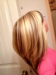 layred hairstyles eith high low lifhts blonde hair with low and high lites blonde high lights and peek