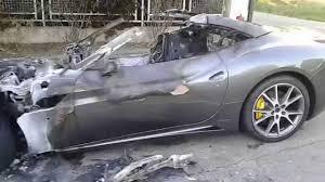 Ferrari California Evo - ferrari california after crash youtube