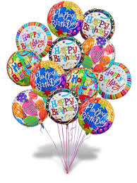 deliver ballons happy birthday balloon air arrangement flowers miami