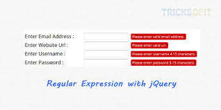 regex pattern website url regular expression with jquery validation tricks of it