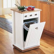 Kitchen Cabinet Bin Kitchen Island With Trash Bin Kitchen Island Trash Bin Venture