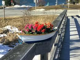 planters wooden garden boat planters uk fishing plans planter