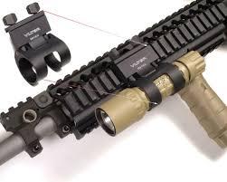 ar 15 light mount battery for stinger flashlight accessories high lumen durable