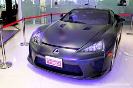 lexus lfa crash lexus malaysia opens sungai besi 3s centre with the lexus lfa on