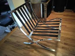 Barcelona Chair Philippines Vintage 80 U0027s Barcelona Chair Frame Only For Sale In Smyrna Ga