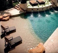Best  Beach Pool Ideas On Pinterest Beach Entrance Pool Zero - Backyard beach design