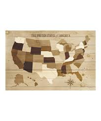 Wall Map Of Usa by Awesome Us Map Canvas Wall Art Pallet Project String And Wall