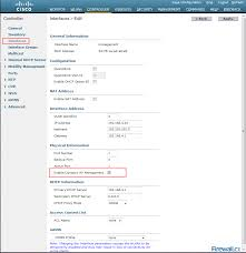 Cisco Route Map by Cisco Wlc Interfaces Ports U0026 Their Functionality Understand How