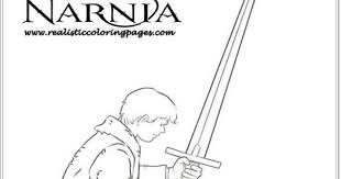 peter chronicles narnia colouring pages realistic coloring pages