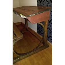 bureau d 馗olier ancien en bois 1 place bureau ecolier en bois nelemarien info