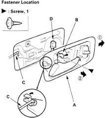 2002 Toyota Camry Interior Door Handle Maintenance Inside Door Latch Not Working Toyotta Corolla 2002