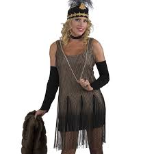 gatsby halloween costumes deluxe gatsby flapper dress