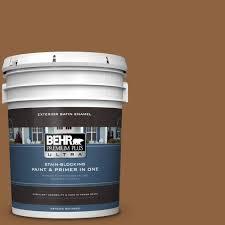 behr marquee 5 gal n260 2 almond latte satin enamel exterior